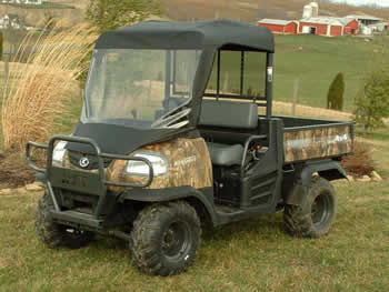 kubota rtv900 soft windshield top all terrain online. Black Bedroom Furniture Sets. Home Design Ideas