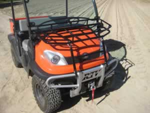 kubota rtv 500 hood rack all terrain online. Black Bedroom Furniture Sets. Home Design Ideas