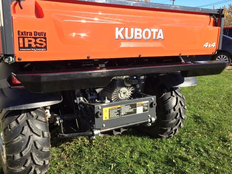 Kubota Rtv 1100 Modifications : Rear bumper for rtv c d all terrain online