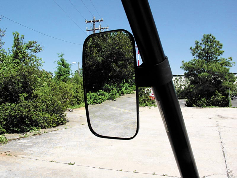 kubota rtv 500 side view mirror