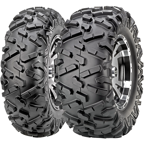 Pair of Maxxis BigHorn 20 Radial 26x912 ATV Tires 2